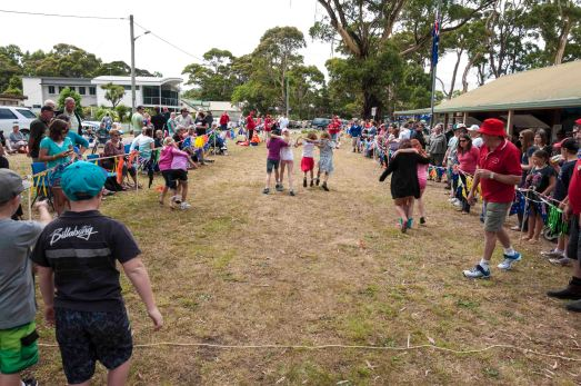 Three Legged Race Winners - Aussie Day - Strahan